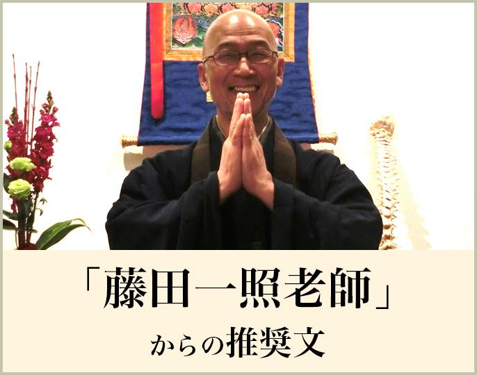 藤田一照老師推奨文