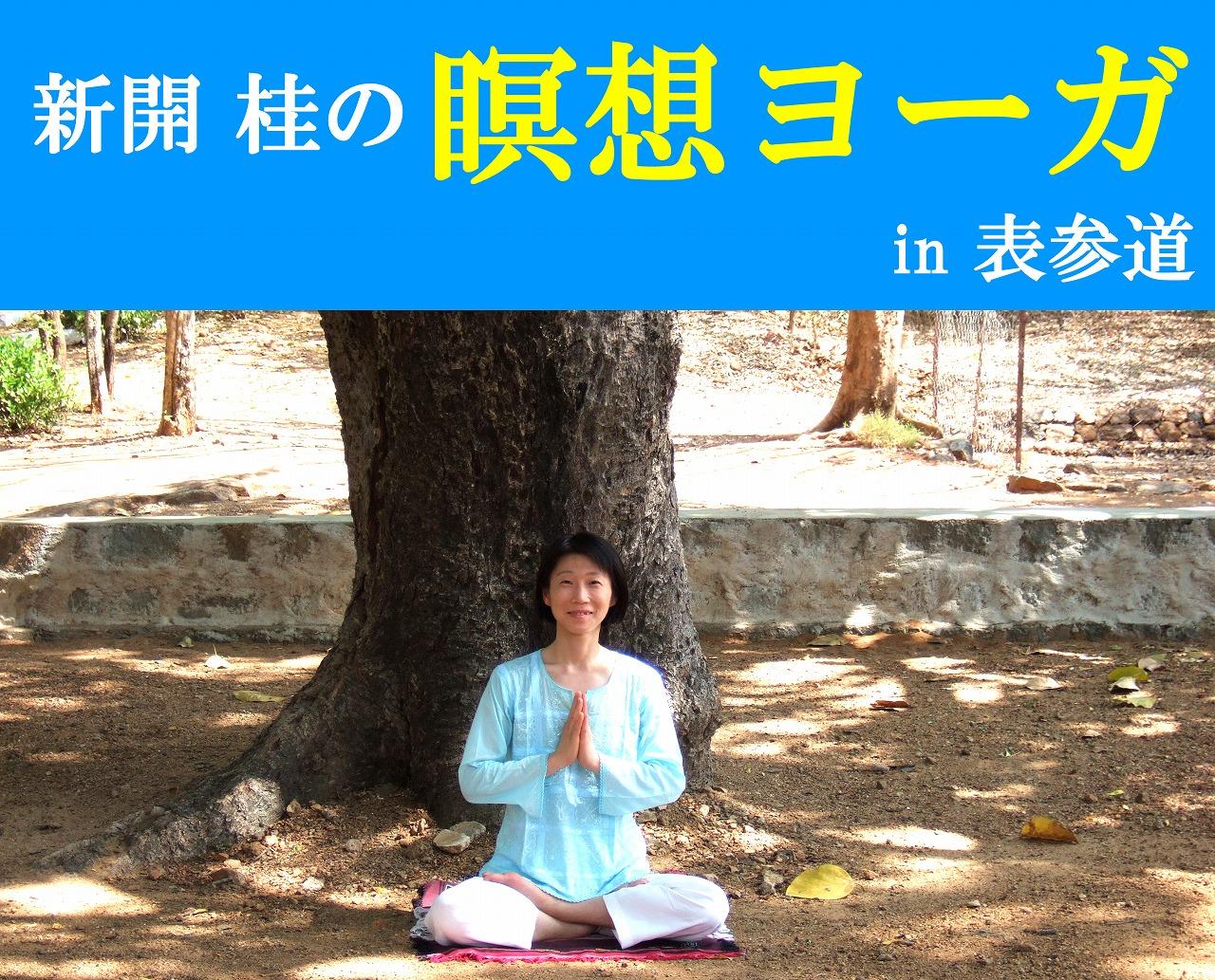 HP用桂瞑想ヨーガ